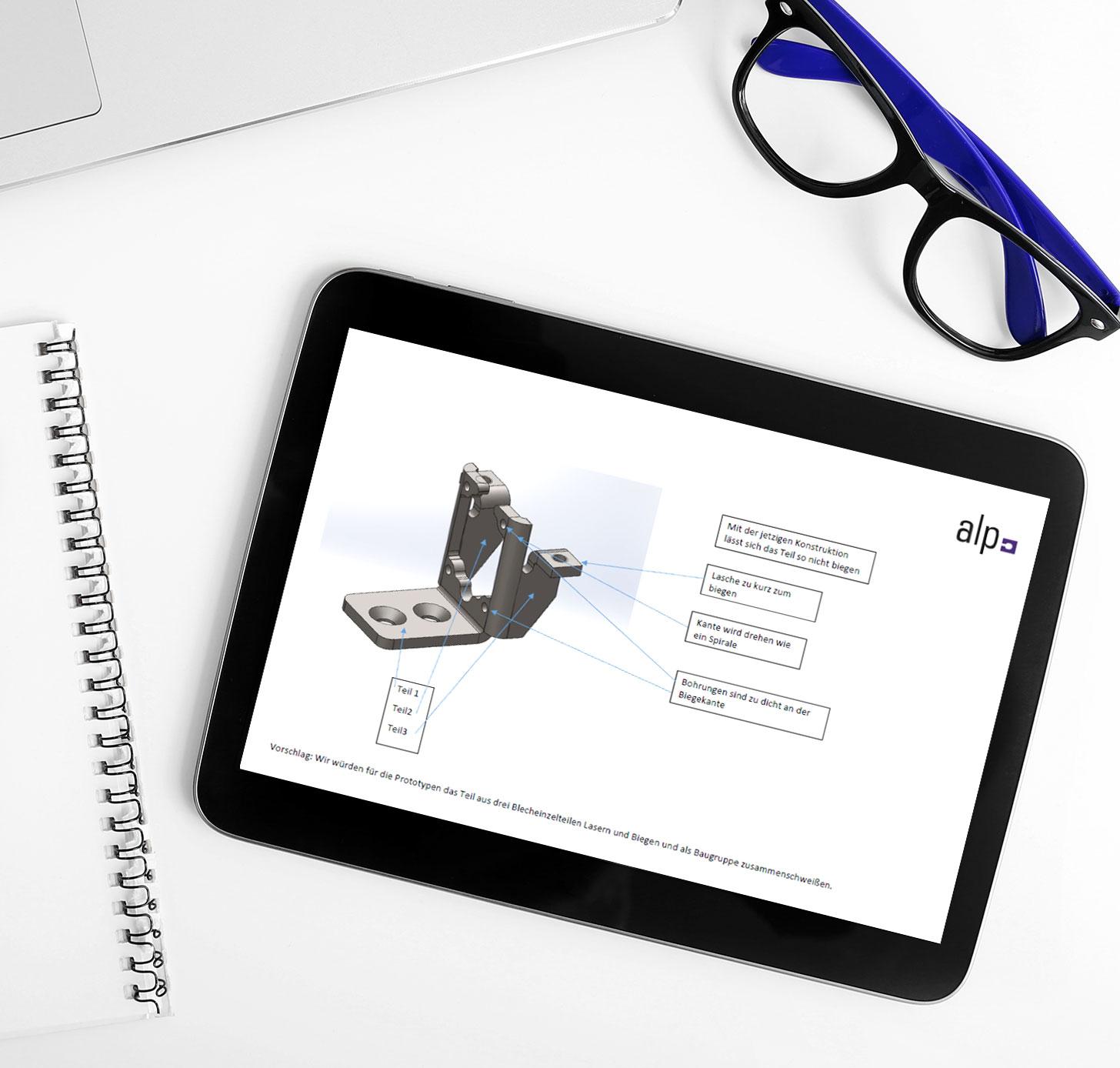 Consulting Beispiel | alp GmbH